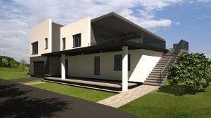 Individualių namų namų projektavimo paslaugos.