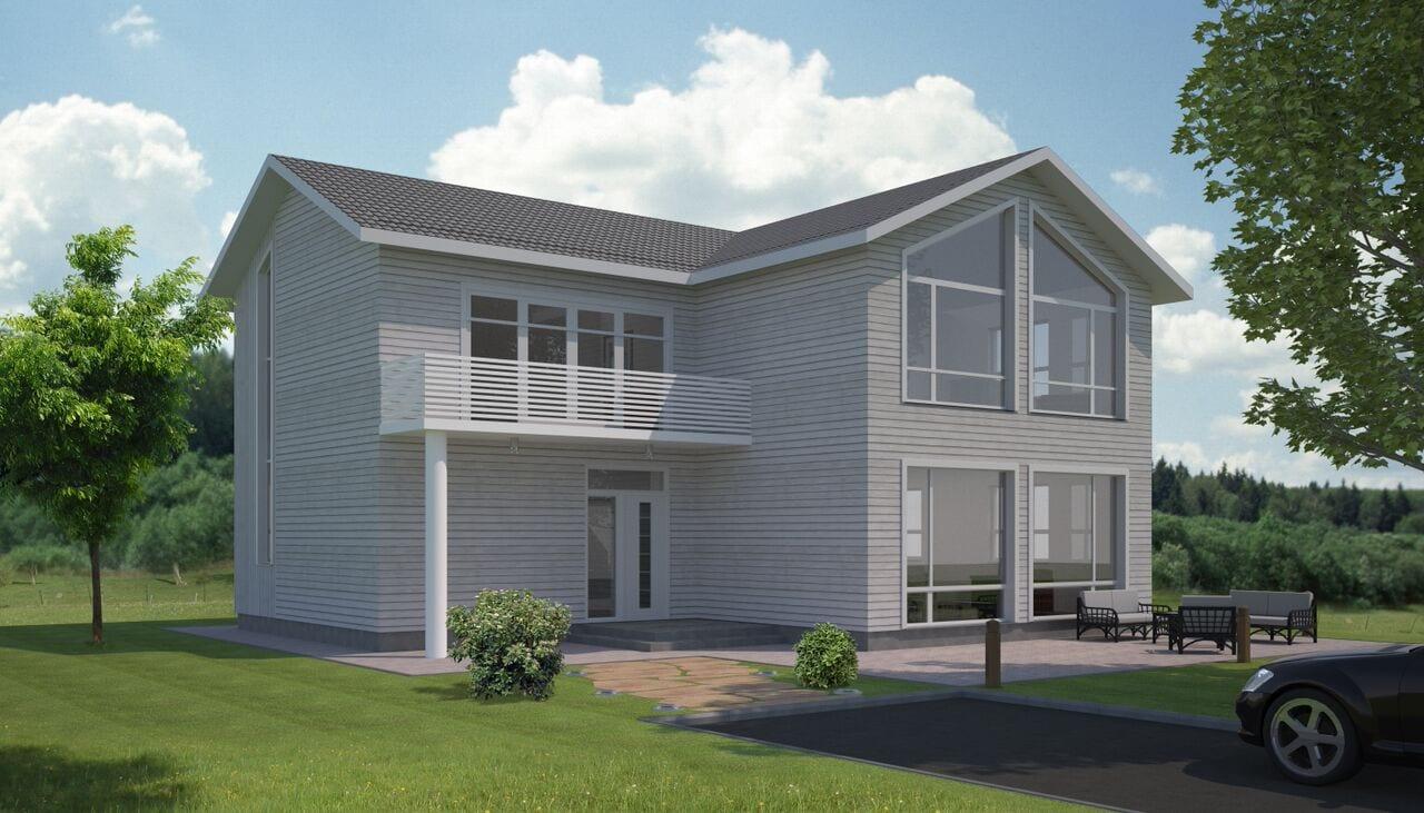 Tipinis gyvenamojo namo projektas