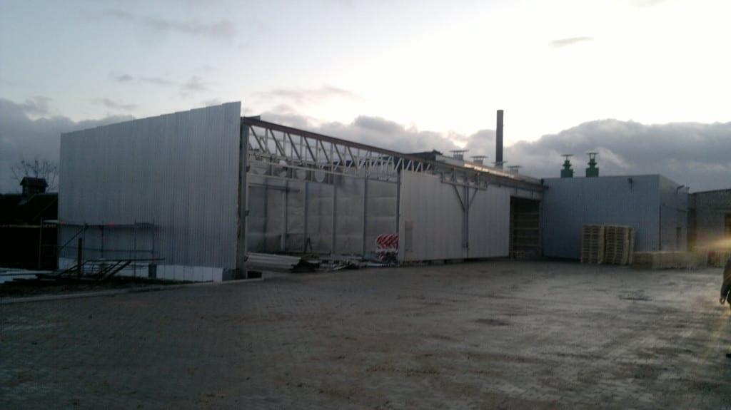 Inžinerinio statinio statybos projektas