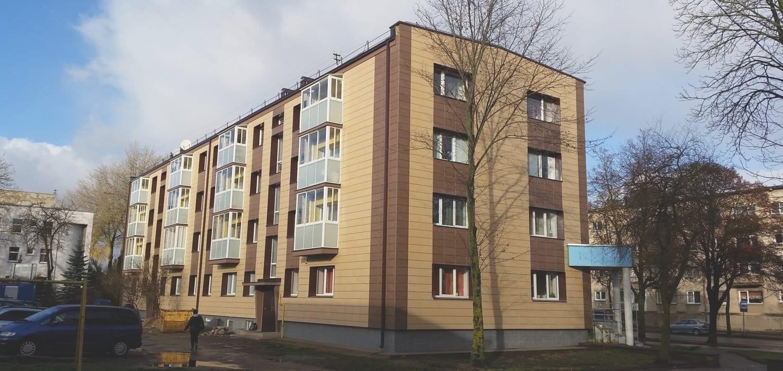 Daugiabučių gyvenamųjų namų modernizacijos projektas