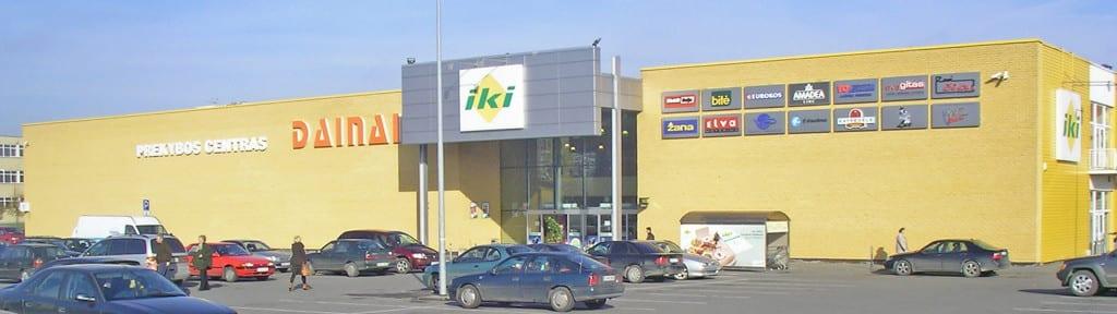 Prekybos centro projektavimas Šiauliuose
