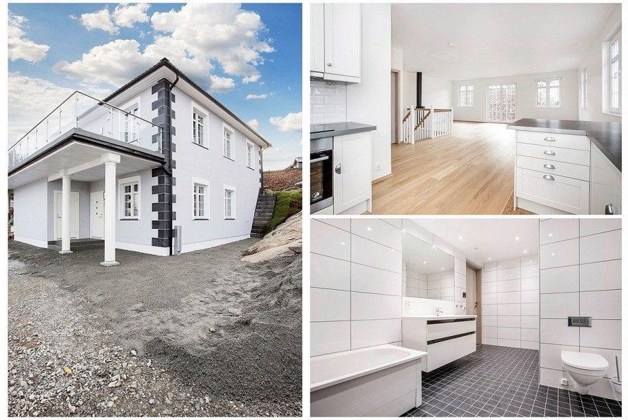 Dvibutis gyvenamasi namas Norvegijoje