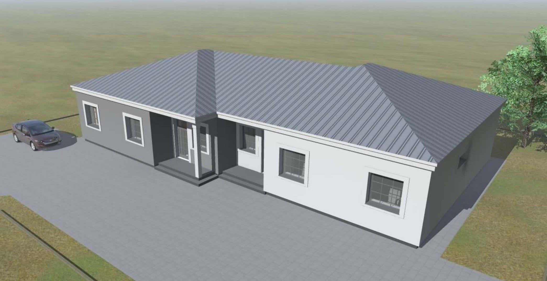 Dvibučių namų projektai