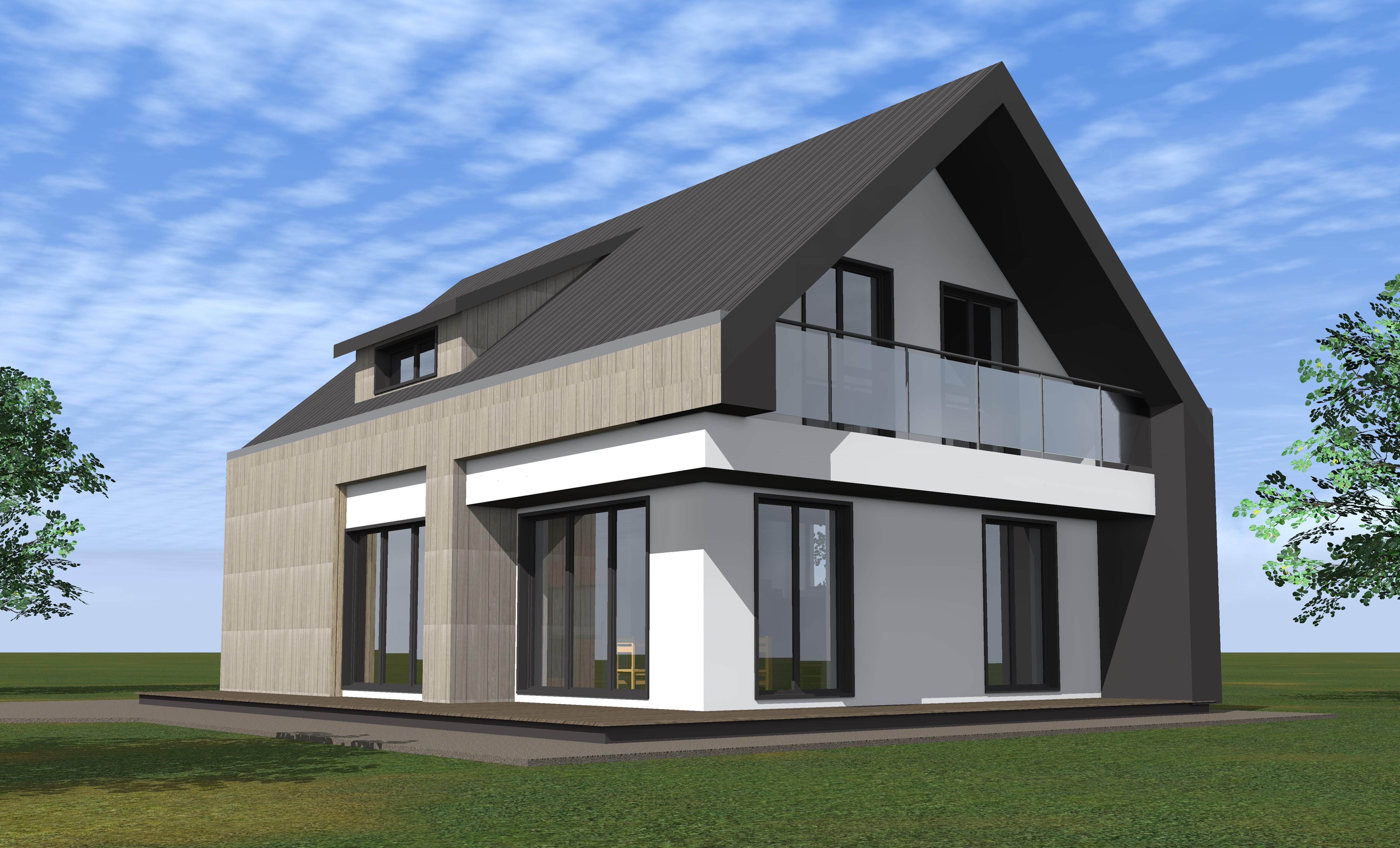 Viebučio gyvenamojo namo projektas
